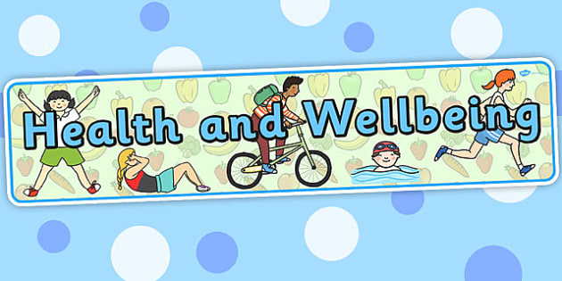 Health And Wellbeing Curriculum For Excellence Display Banner