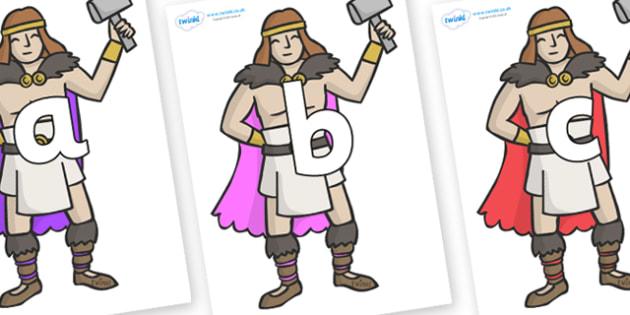 Phoneme Set on Viking Warriors - Phoneme set, phonemes, phoneme, Letters and Sounds, DfES, display, Phase 1, Phase 2, Phase 3, Phase 5, Foundation, Literacy