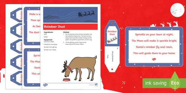 Reindeer Dust Gift Resource Pack