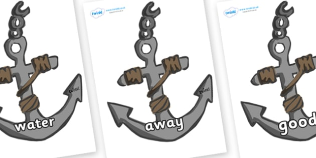 Next 200 Common Words on Anchors - Next 200 Common Words on  - DfES Letters and Sounds, Letters and Sounds, Letters and sounds words, Common words, 200 common words