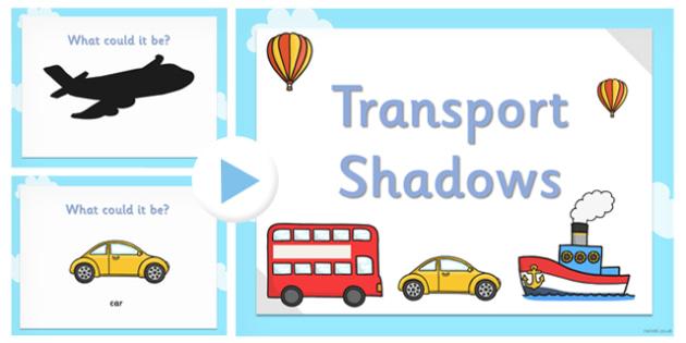 Transport Shadow PowerPoint - transport, shadow, powerpoint