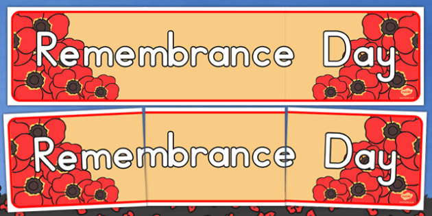 Remembrance Day Display Banner - australia, remembrance day