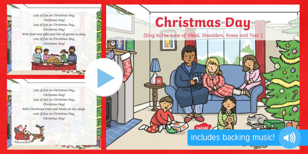 Christmas Day Song PowerPoint