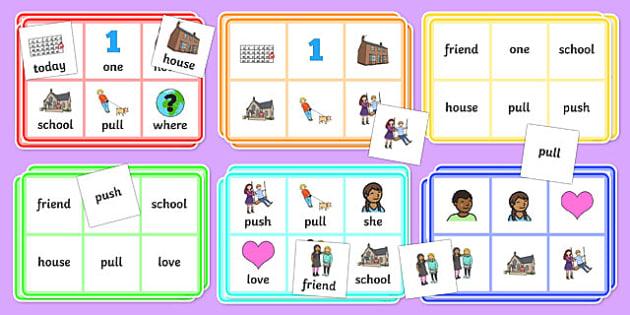 Year 1 Common Exception Words Bingo - year 1, common exception words, bingo, game, activity