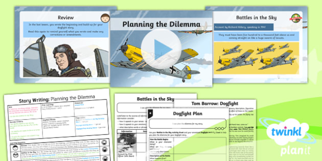 PlanIt Y5 World War II: Battle of Britain Lesson Pack Story Writing (3)