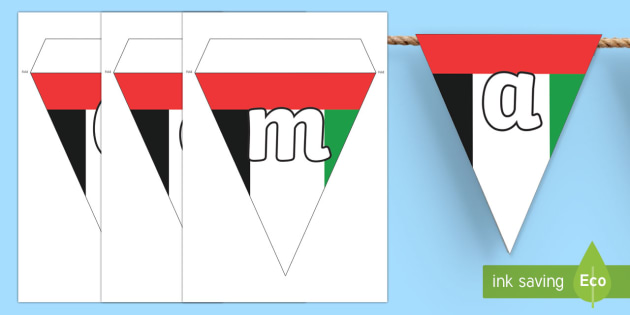 Commemoration Day Display Bunting - commemoration day, display bunting, display, bunting