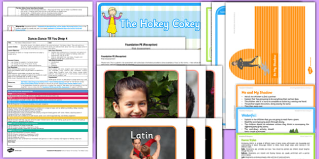 Foundation PE (Reception) - Dance - Dance Till You Drop Lesson Pack 4: The Hokey-Cokey - EYFS, PE, Physical Development, Planning