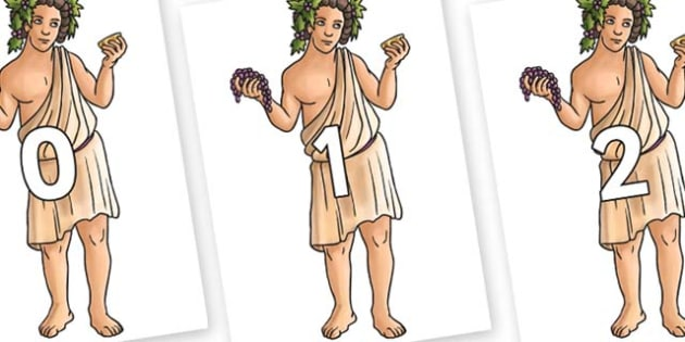 Numbers 0-50 on Dionysus - 0-50, foundation stage numeracy, Number recognition, Number flashcards, counting, number frieze, Display numbers, number posters