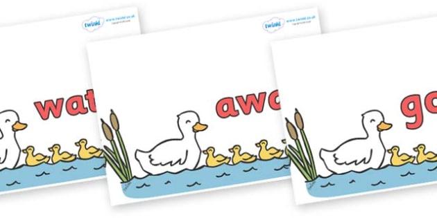 Next 200 Common Words on Five Little Ducks - Next 200 Common Words on  - DfES Letters and Sounds, Letters and Sounds, Letters and sounds words, Common words, 200 common words