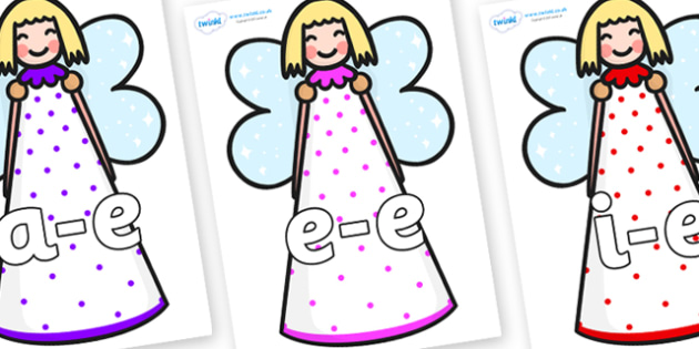 Modifying E Letters on Angels - Modifying E, letters, modify, Phase 5, Phase five, alternative spellings for phonemes, DfES letters and Sounds