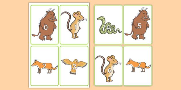 The Gruffalo Numbers 0-20 - the gruffalo, numbers, 0-20, gruffalo, number