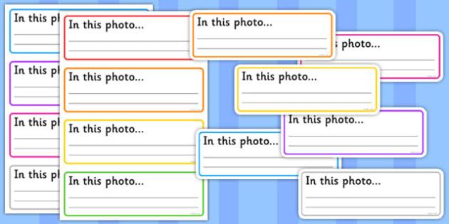 Photo Display Labels - photo, display, labels, display labels
