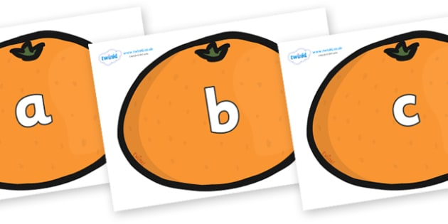 Phase 2 Phonemes on Satsumas - Phonemes, phoneme, Phase 2, Phase two, Foundation, Literacy, Letters and Sounds, DfES, display