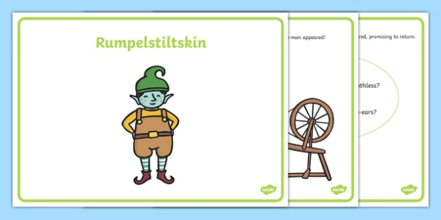 Rumpelstiltskin Story Sequencing (A4) - Rumpelstiltskin, Brothers Grimm, fairy tale, tale, miller, straw, millers daughter, sequencing, story sequencing, story resources, A4, cards,  forest, wood, gold, ring, king, spinning wheel, child, singing