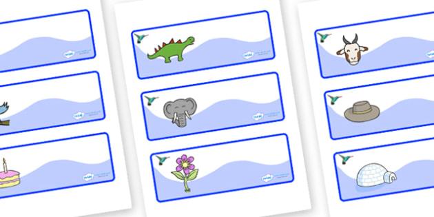 Hummingbird Themed Editable Drawer-Peg-Name Labels - Themed Classroom Label Templates, Resource Labels, Name Labels, Editable Labels, Drawer Labels, Coat Peg Labels, Peg Label, KS1 Labels, Foundation Labels, Foundation Stage Labels, Teaching Labels