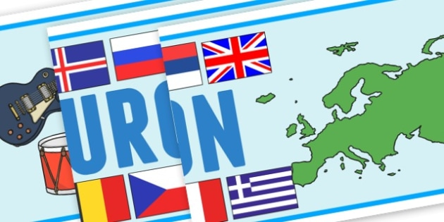 Eurovision Banner - Eurovision, Banner, Display