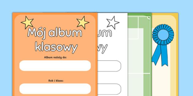 Scrapbook na zakończenie roku po polsku