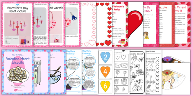 Top 10 Valentine's Day Resource Pack - top ten, valentines day, resources, pack