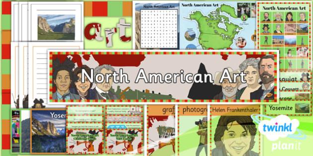 PlanIt - Art UKS2 - North American Art Unit Additional Resources