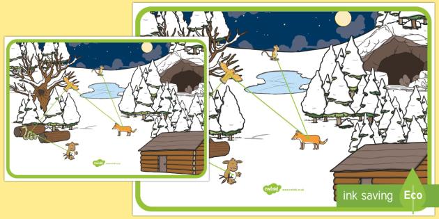 The Gruffalo's Child's Journey Map