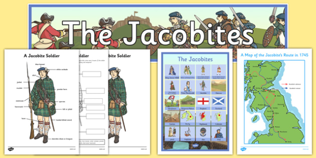 The Jacobites Planning Overview Pack - the jacobites, planning overview, plan, overview, pack, scotland, scottish, cfe, excellence