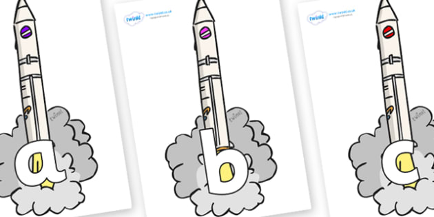 Phoneme Set on Launching Rockets - Phoneme set, phonemes, phoneme, Letters and Sounds, DfES, display, Phase 1, Phase 2, Phase 3, Phase 5, Foundation, Literacy