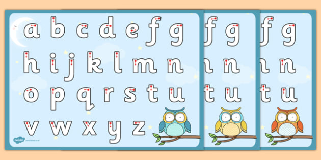 Cute Owl Themed Letter Writing Worksheet - cute owl, letter writing, letter, write, worksheet