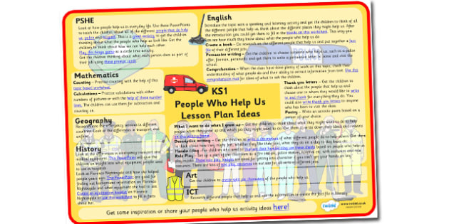 People Who Help Us Lesson Plan Ideas - people, who, help, us, lesson, plan, lesson plan, ideas, lesson ideas, people who help us lesson plan