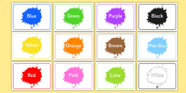 Editable Class Group Signs (Colour) - Colours, group signs, group labels, group table signs, table sign, teaching groups, class group, class groups, table label