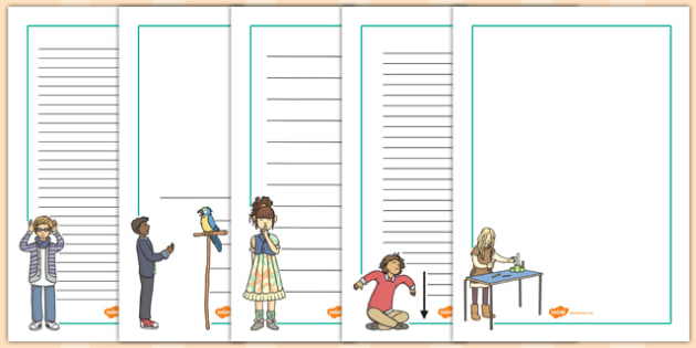 French Classroom Instructions Page Borders - french, page, border