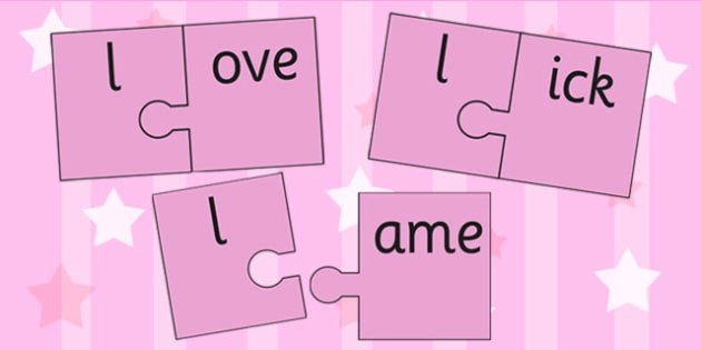 l And Vowel Production Jigsaw Cut Outs - l, vowel, jigsaw, sounds