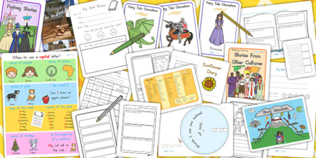 Australia Writing Resource Pack - writing, australia, resources