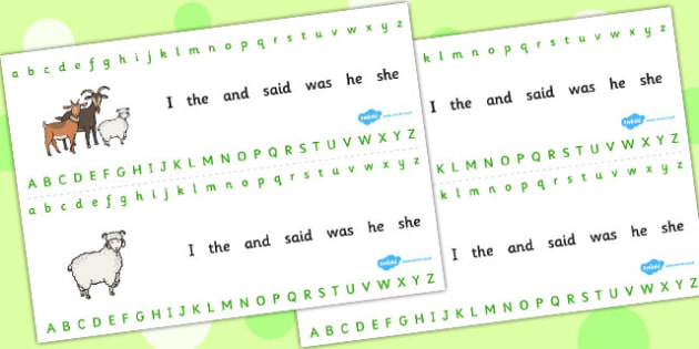 The Three Billy Goats Gruff Alphabet Strips - alphabet, strips