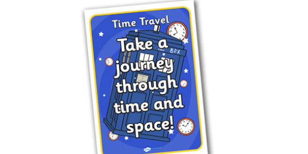 Time Machine Role Play Poster - time machine, role play, poster, time machine poster, role play poster, time travel, time machine role play, role, play