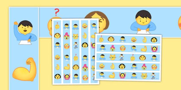 Emojis Display Borders