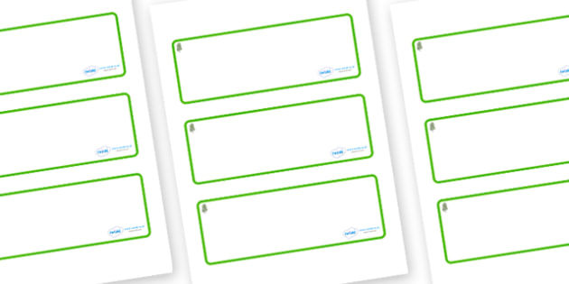 Birch Tree Themed Editable Drawer-Peg-Name Labels (Blank) - Themed Classroom Label Templates, Resource Labels, Name Labels, Editable Labels, Drawer Labels, Coat Peg Labels, Peg Label, KS1 Labels, Foundation Labels, Foundation Stage Labels, Teaching L