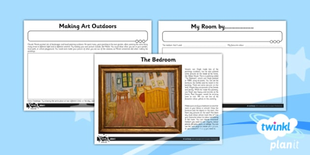 PlanIt - Art and Design KS1 - Landscapes and Cityscapes Unit Home Learning Tasks
