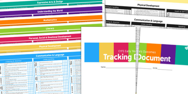 EYFS Early Years Outcomes Tracking Document (3 Terms) September 2014 - Early, Years, Outcomes, Tracking, September