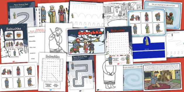 Babushka Resource Pack - Russian, activities, activity, doll