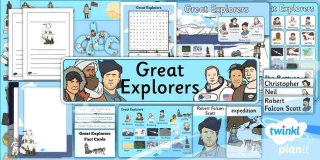PlanIt - History KS1 - Great Explorers: Unit Additional Resources