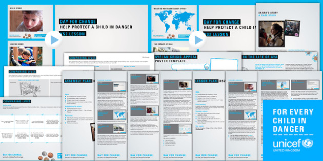 Unicef Day for Change 2016 KS2 Resource Pack