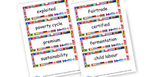 Fairtrade Cards - Fairtrade Fortnight Organised Events Primary Resources - Fairtrade