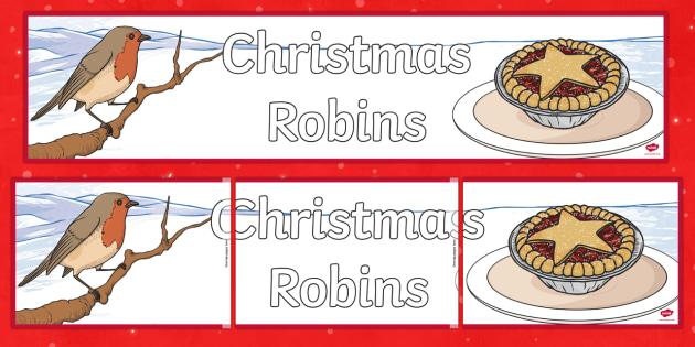 Christmas Robins Banner - Robin, Christmas robin, Christmas, Waitrose advert, banner, display
