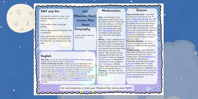 Lesson Plan Ideas to Support Teaching on Whatever Next! - whatever next, lesson plan, lesson ideas, whatever next lesson plan , whatever next ideas, ideas for whatever next lesson