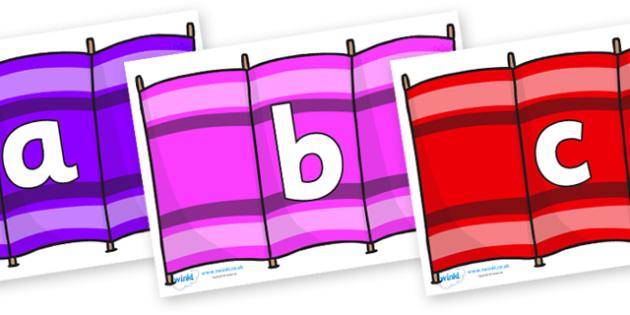 Phoneme Set on Windbreakers - Phoneme set, phonemes, phoneme, Letters and Sounds, DfES, display, Phase 1, Phase 2, Phase 3, Phase 5, Foundation, Literacy