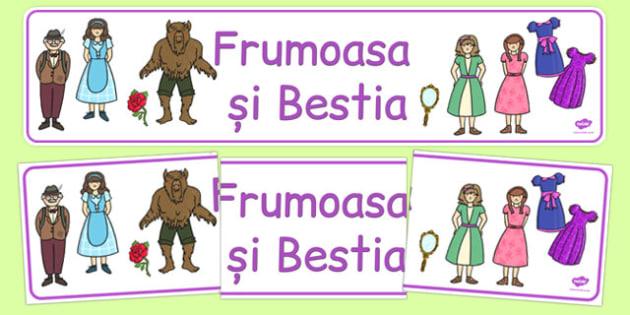Frumoasa și Bestia - Banner