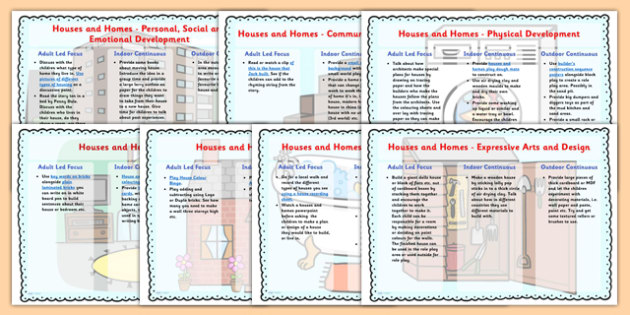 Houses and Homes Lesson Plan Ideas EYFS - houses and homes, lesson plan, lesson plan ideas, lesson ideas, lesson planning, teaching plan, EYFS, EYFS ideas