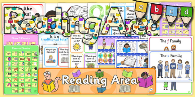 KS1 Reading Display Pack - ks1, reading, display pack, display, pack, english