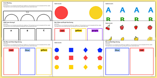 Autism Workstation Resource Pack - resource, pack, TEACCH
