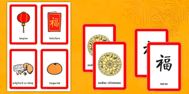 Anul Nou Chinezesc - Cartonașe joc de memorie